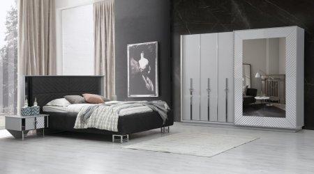 Elegant Bazalı Yatak Odası