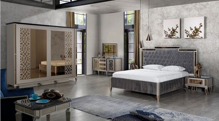 Art Deco Yatak Odası